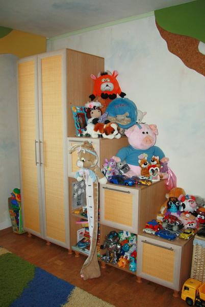 Горка-1. Практичная детская корпусная мебель, состоящая из шка