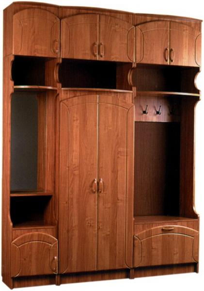 Прихожая с антресолями - 1 :: каталог мебели :: мебель киров.